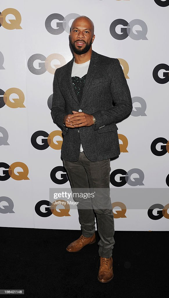 Common arrives at the GQ Men Of The Year Party at Chateau Marmont Hotel on November 13, 2012 in Los Angeles, California.