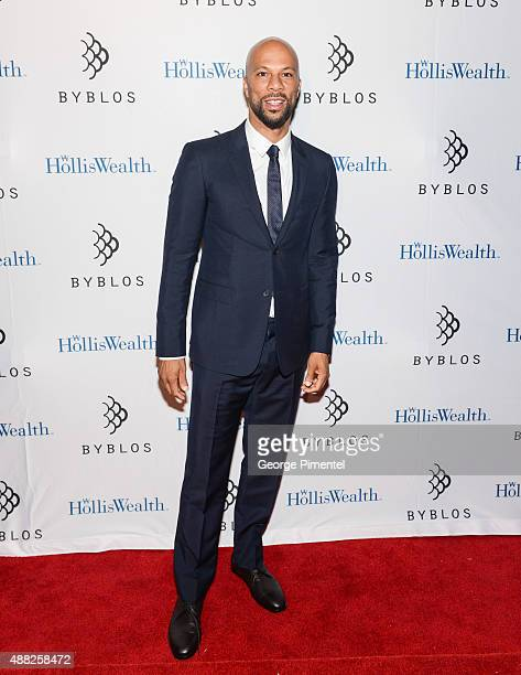 Common attends 'Being Charlie' TIFF Party during the 2015 International Film Festival at Byblos Toronto hosted by Holliswealt on September 14 2015 in...