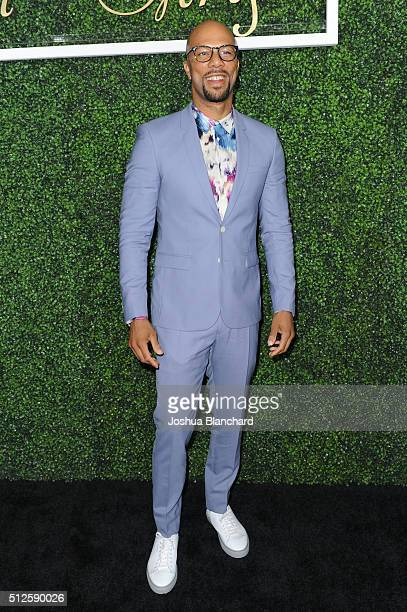 Common attends Common's Toast to the Arts sponsored by Remy Martin at Ysabel on February 26 2016 in West Hollywood California
