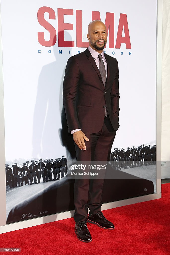 Common attends 'Selma' New York Premiere - Inside Arrivals at Ziegfeld Theater on December 14, 2014 in New York City.