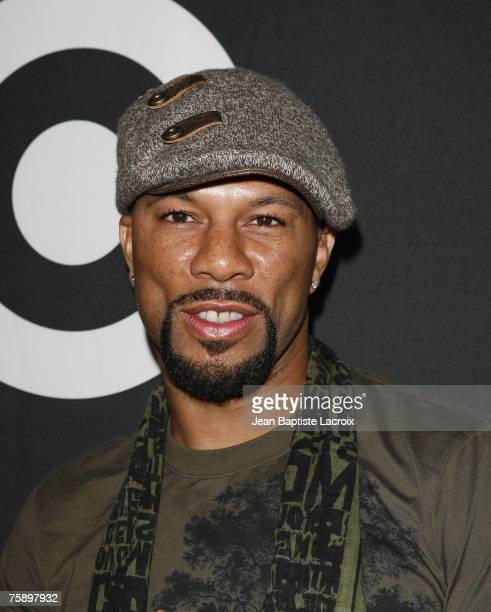 Common attends Target Hosts Common's Finding Forever Album Release Event at One's on July 31 2007 in Los Angeles California