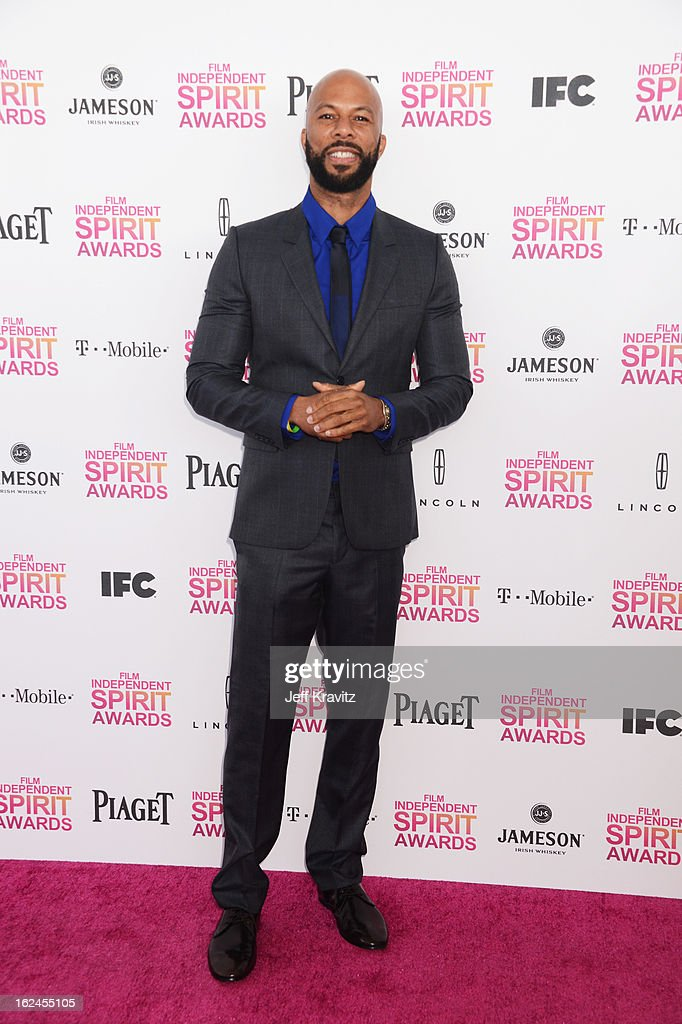 Common attends the 2013 Film Independent Spirit Awards at Santa Monica Beach on February 23, 2013 in Santa Monica, California.