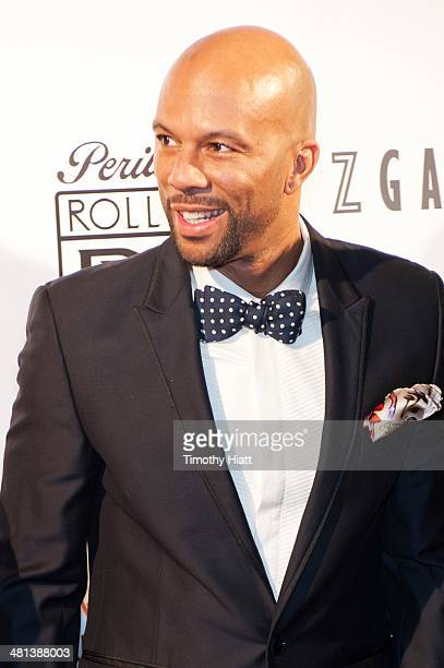 Common attends the 2014 Common Ground Foundation gala at the Fairmont Chicago Hotel on March 29 2014 in Chicago Illinois