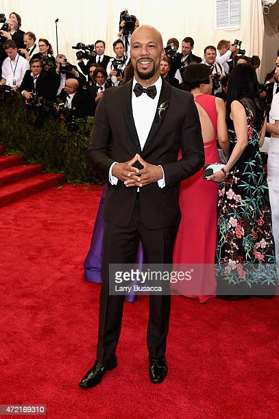 Common attends the 'China Through The Looking Glass' Costume Institute Benefit Gala at the Metropolitan Museum of Art on May 4 2015 in New York City