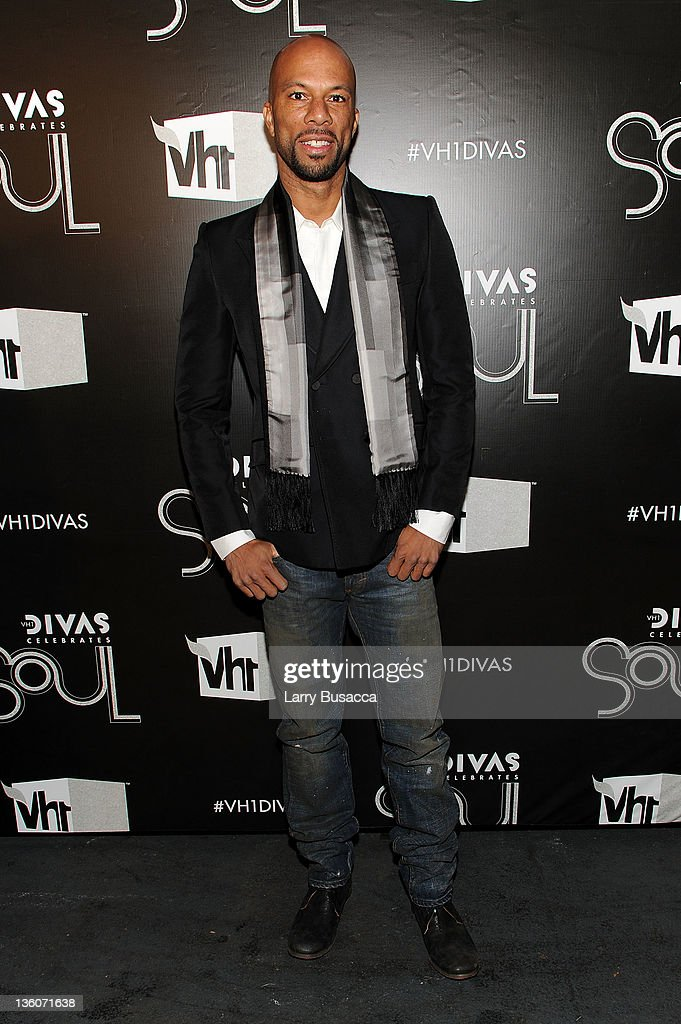 Common attends VH1 Divas Celebrates Soul at Hammerstein Ballroom on December 18, 2011 in New York City.