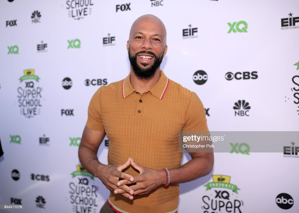 Common attends XQ Super School Live, presented by EIF, at Barker Hangar on September 8, 2017 in Santa California.
