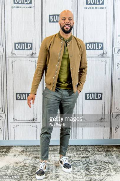 Common discusses '13th' with the Build Series at Build Studio on August 17 2017 in New York City