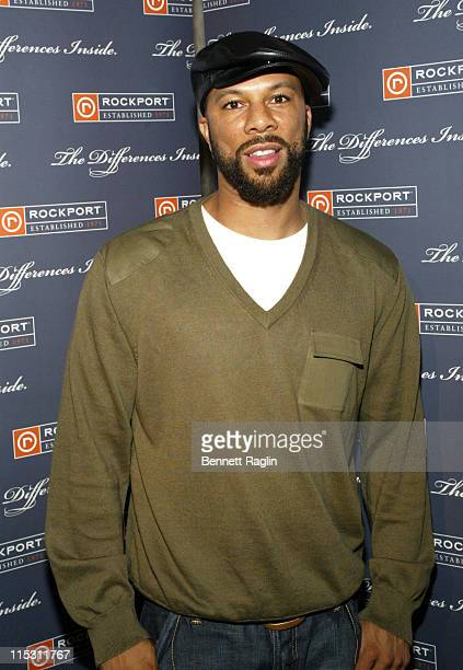 Common during 2006 MTV Video Music Awards Sapporo Maybach Present Common Famke Janssen's VMA Cookout 2006 at Sky Studios in New York City New York...