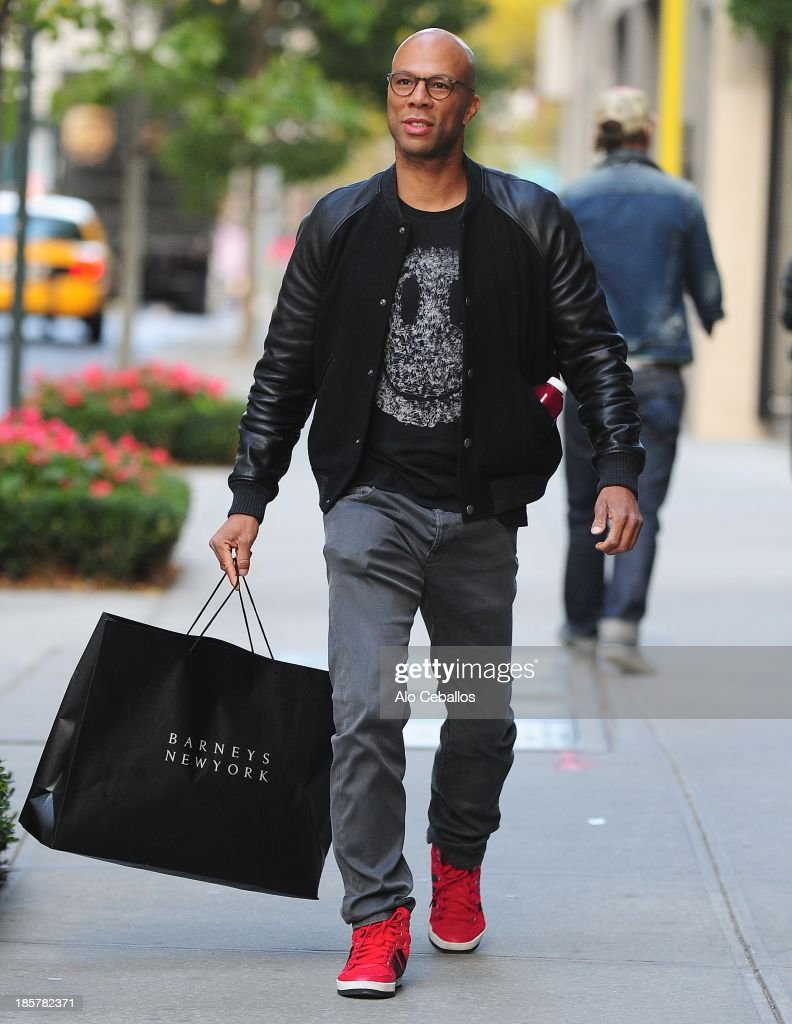 Common is seen in Soho on October 24, 2013 in New York City.