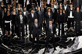 Common John Legend perform 'Glory' from 'Selma' onstage during the 87th Annual Academy Awards at Dolby Theatre on February 22 2015 in Hollywood...