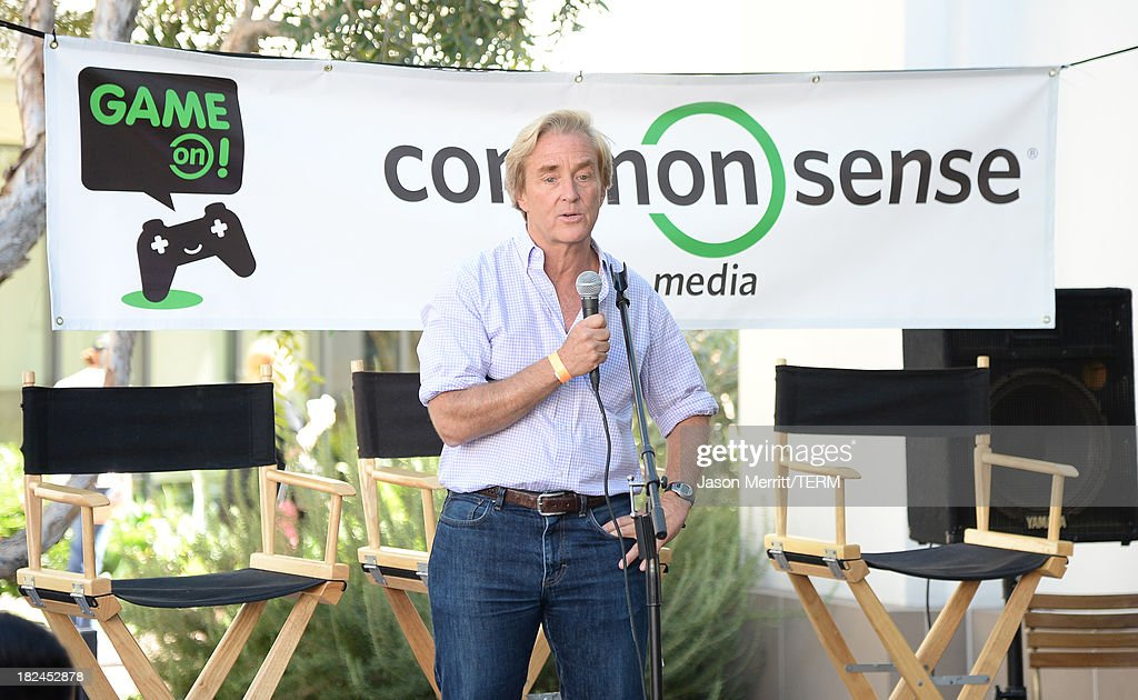 Common Sense Media Ceo Jim Steyer attends the 2nd Annual GameOn! fundraiser hosted by Common Sense Media at Sony Pictures Studios on September 29, 2013 in Culver City, California.