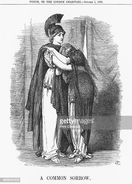'A Common Sorrow' 1881 Britannia comforts America after the death of the President on the 19th September 1881 James A Garfield was shot and severely...