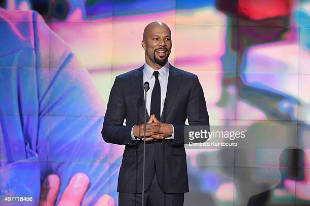 Common speaks on stage during CNN Heroes 2015 Show at American Museum of Natural History on November 17 2015 in New York City 25619_023