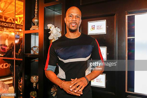 Common stops by Samsung during 2015 ESSENCE Festival on July 3 2015 in New Orleans Louisiana