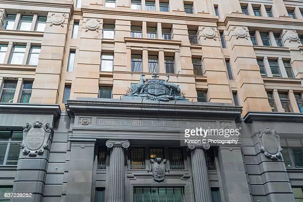 Commonwealth Bank Of Australia, Martin Place, Sydney, NSW, Australia