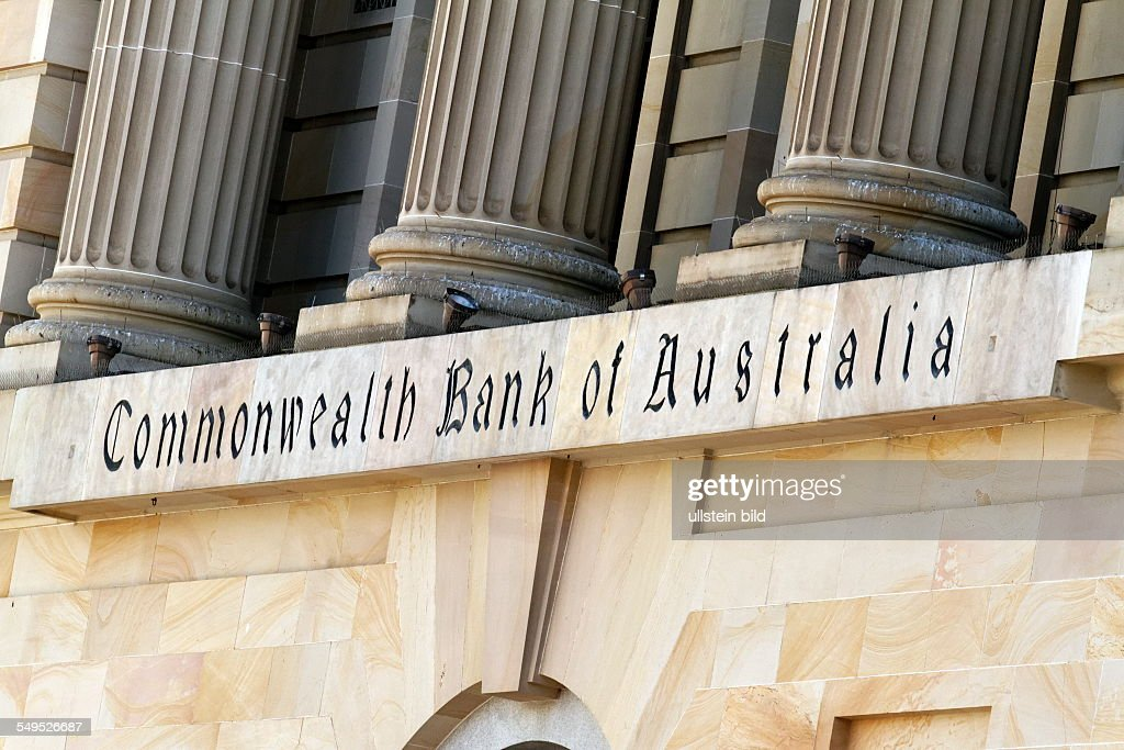 Commonwealth Bank of Australia sign