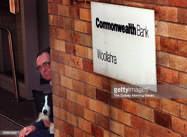 Commonwealth Bank sends letters to Woolahra branch customers telling them of the branch closure Customer and local identity Graham Freudenberg and...