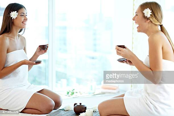 La comunicazione dopo una sauna