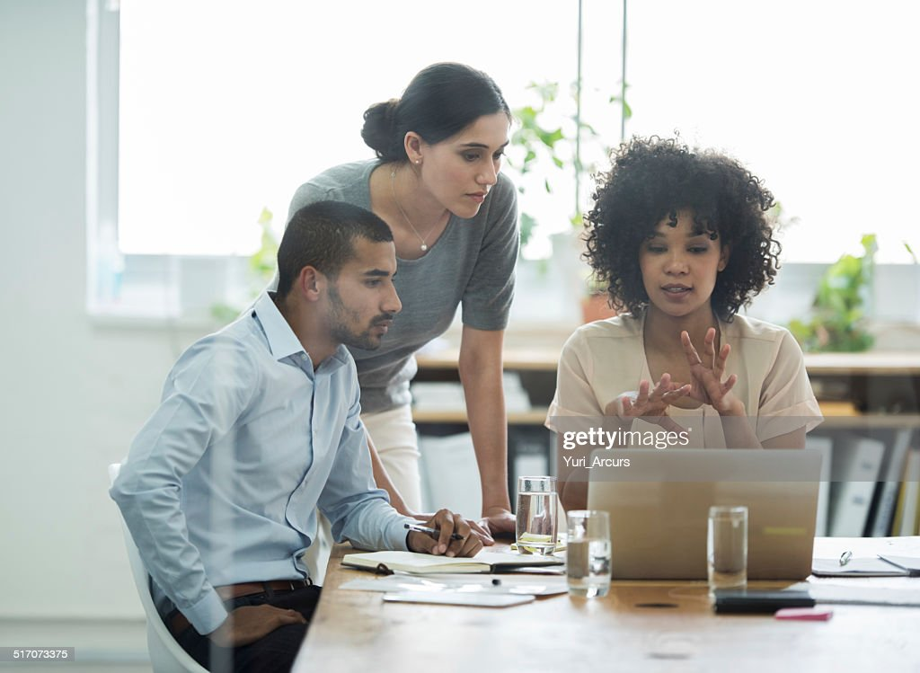 Communicating every detail : Stock Photo