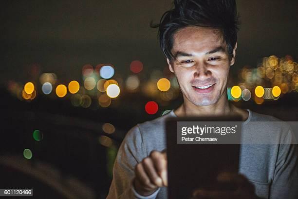 Communication at night