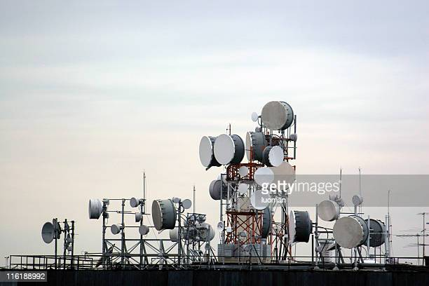 Communication equipment antenna