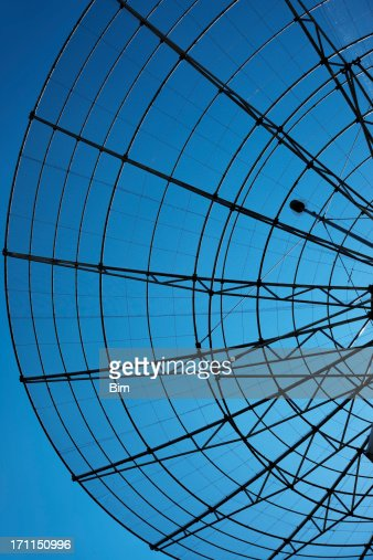 Communication Radar Against Blue Sky