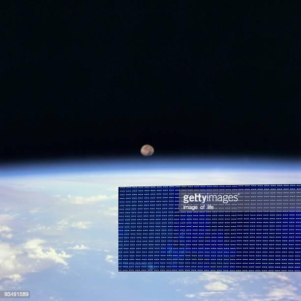 Communication par Satellite en orbite
