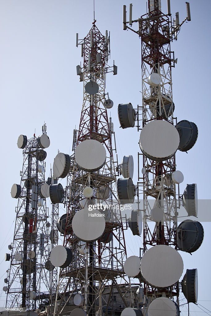 Communication towers