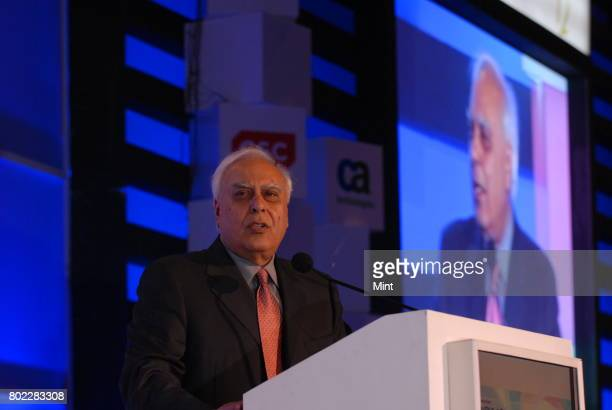 Communications and information technology minister Kapil Sibal at the threeday Nasscom India Leadership Forum organized by Nasscom in Mumbai