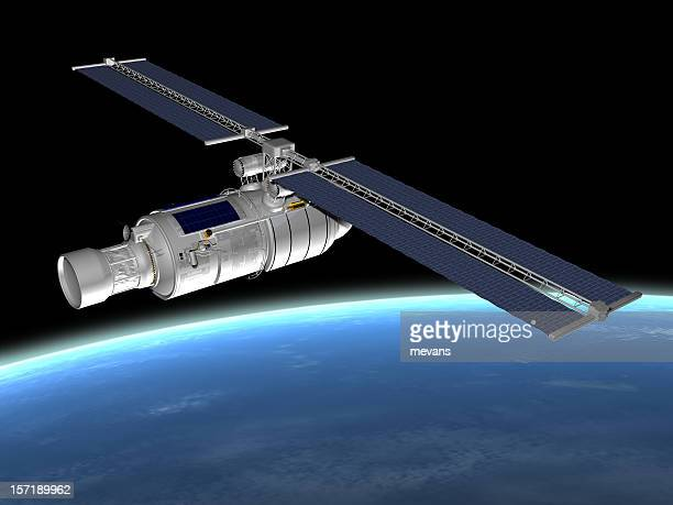 Comunicazioni via Satellite in orbita
