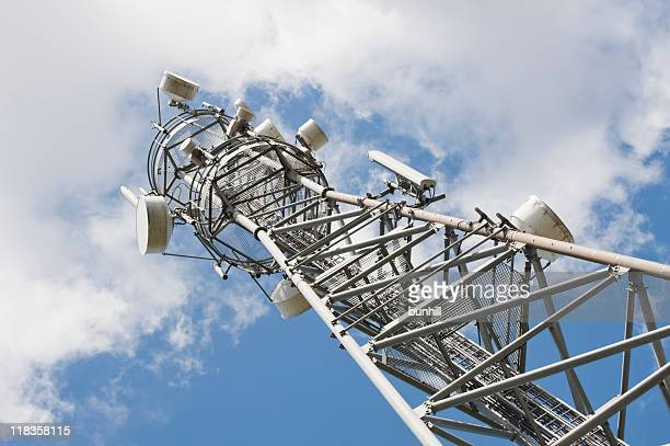communications tower - tv radio & cell antenna