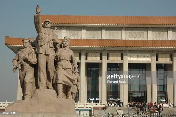 Communist inspired statues