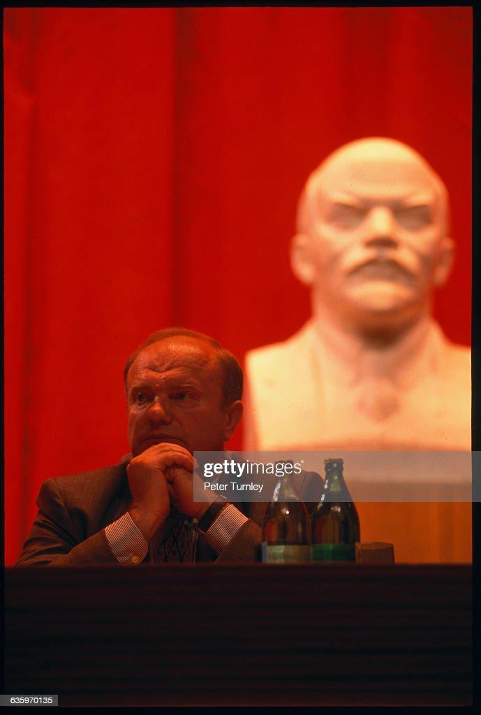 Communist Party Leader Gennadi Zyuganov