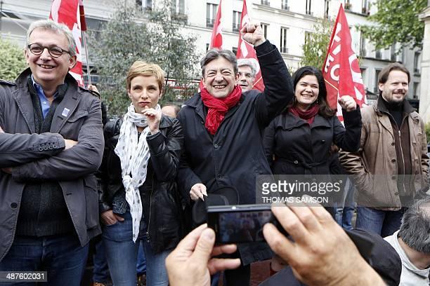 Communist Party National Secretary Pierre Laurent French left party Ensemble's leader Clementine Autain French leftwing party 'Parti de Gauche'...