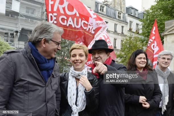 Communist Party National Secretary Pierre Laurent French left party Ensemble leader Clementine Autain French leftwing party 'Parti de Gauche'...
