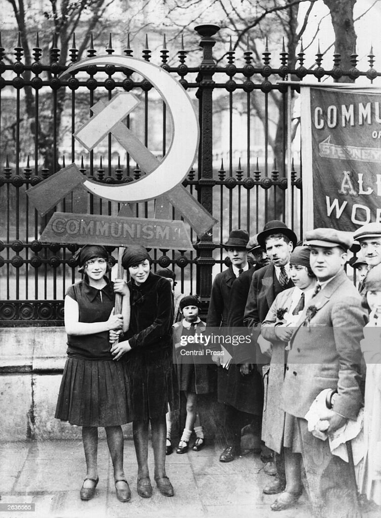 Communists in London celebrating May Day.