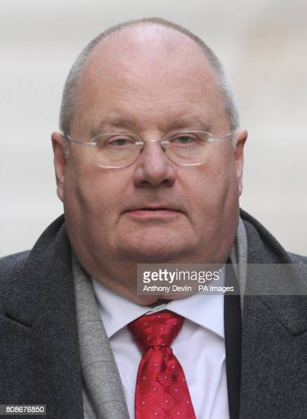 Communities Secretary Eric Pickles arrives for a cabinet meeting at 10 Downing Street London