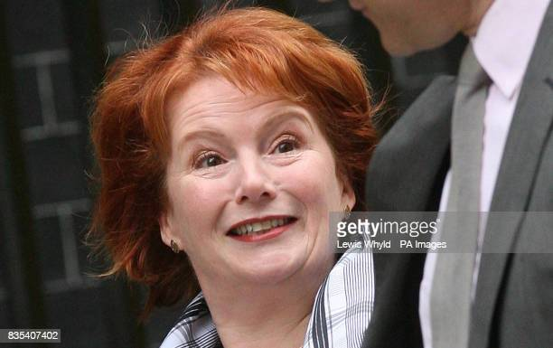 Communities Secretary Hazel Blears arrives today for a Cabinet Meeting at 10 Downing Street On Sunday she said Gordon Brown had failed to get his...