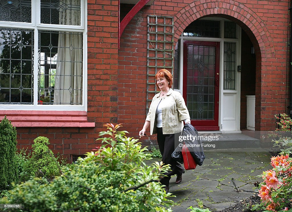 Communities Secretary, Hazel Blears leaves her Salford home to go on the campaign trail with a candidate in the local council by-election on May 21, 2009 in Salford, England. Governent minister Hazel Blears said she was 'getting on with the job' amid speculation about her future in the wake of the MP's expenses revelations.