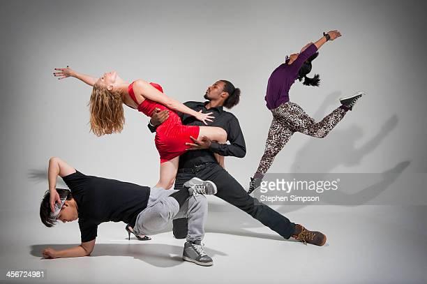 Community College dance troupe