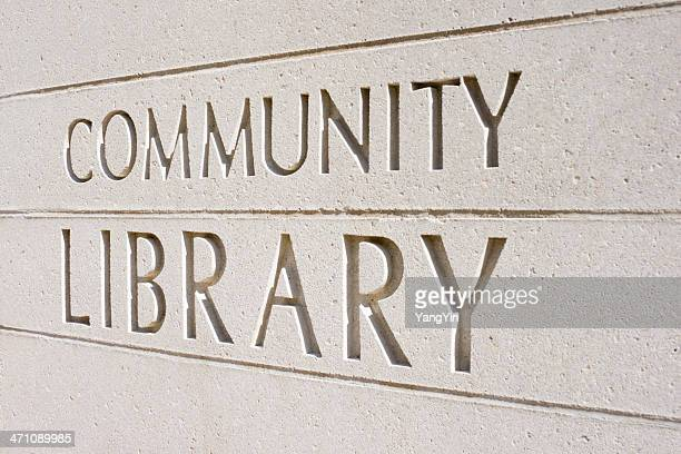 Community Library in Stone