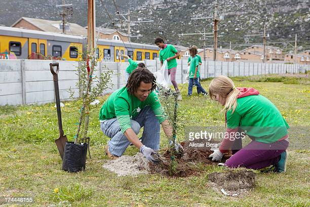 Community upliftment project to plant trees