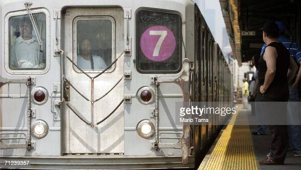 A commuter waits to ride the 7 subway train June 19 2006 in New York City US officials reportedly learned in 2003 that alQaida operatives planned to...