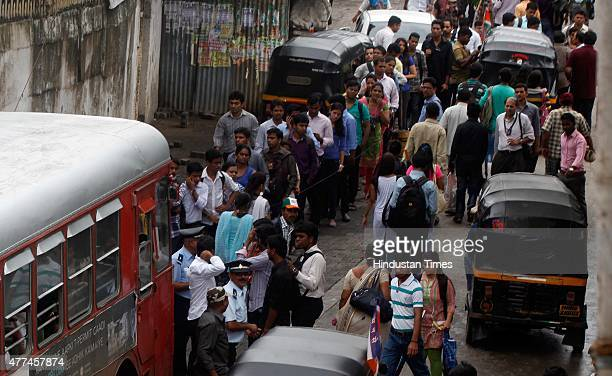 Commuters face problems as autorickshaws went on daylong statewide strike called by the Mumbai AutorickshawTaximen's Union demand ouster of call...