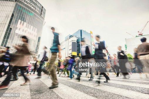80.000 Cruzamento de Shibuya, Tóquio Japão