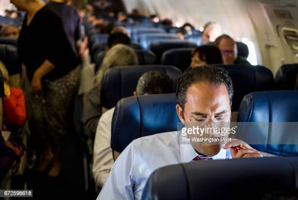 EL PASO TEXAS Commuting from one part of his constituency to the other Representative Will Hurd of the 23rd Congressional District of Texas works...