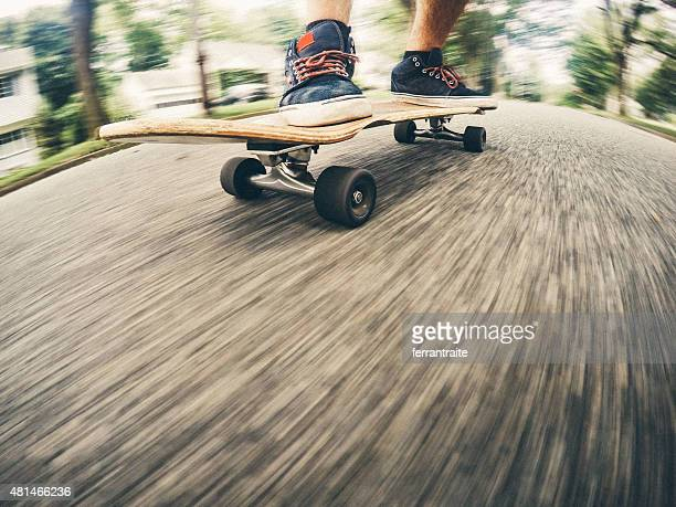 Commuting on a Skateboard