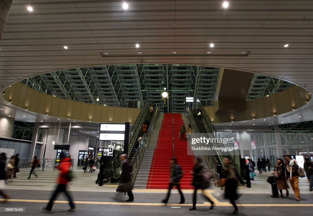 Commutors walk at Osaka Station on February 6, 2013 in Osaka, Japan. A recent servey shows Tokyo as the most expensive city in the world and Osaka ranked second.