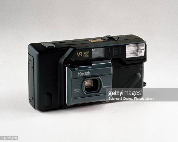 A compact automatic camera introduced by Kodak in 1986