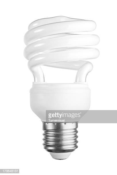 Compact Fluorescent Lamp + Clipping Path